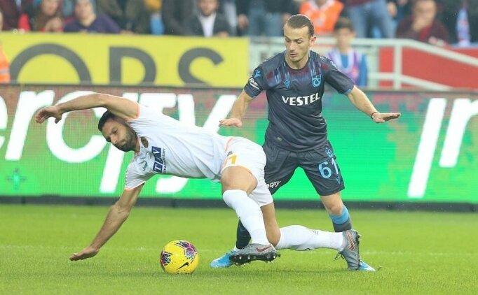 Alanyaspor - Trabzonspor: İlk 11'ler