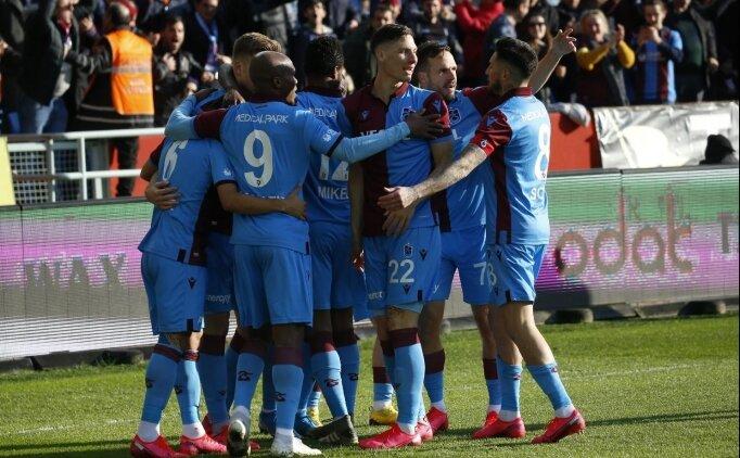 Trabzonspor, Sivasspor maçına tek yerli ile çıktı