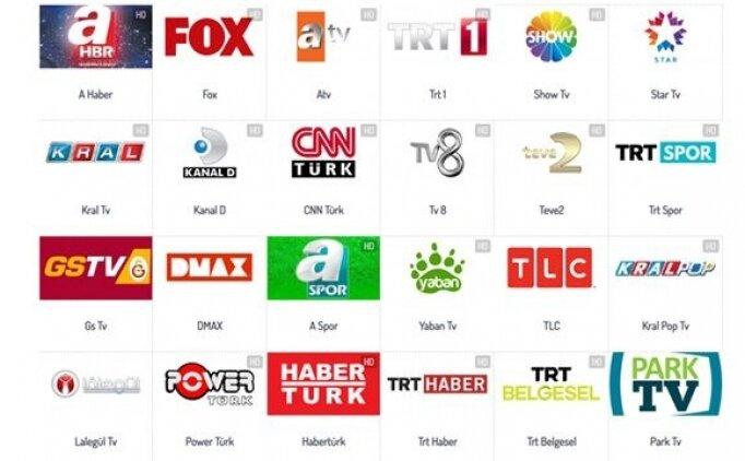 TV canlı izle güncel online reklamsız kesintisiz HD (29 Kasım Pazar)
