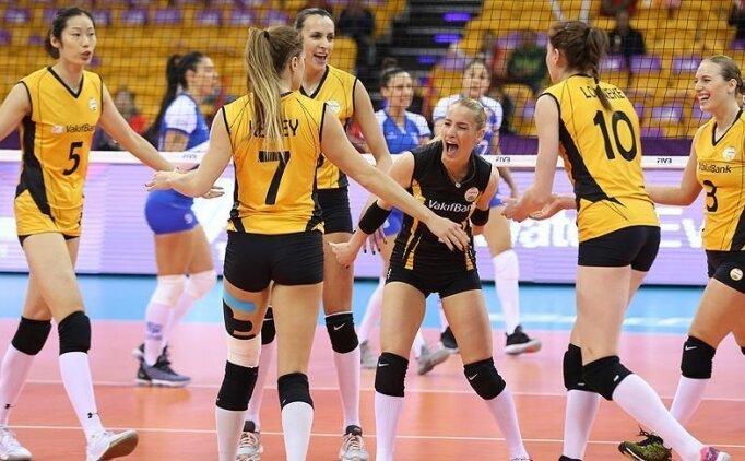 Vakıfbank'tan CEV Şampiyonlar Ligi'nde zafer
