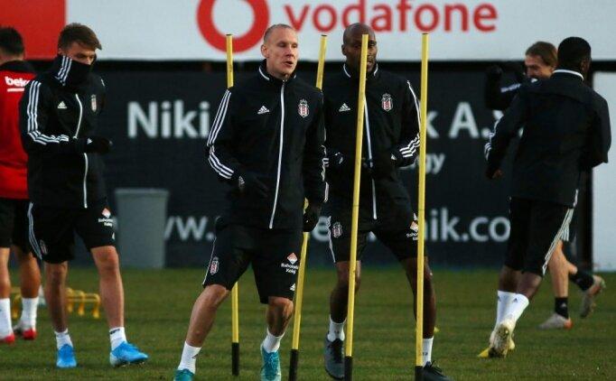 Beşiktaş, Demir Grup Sivasspor maçı hazırlıklarını tamamladı