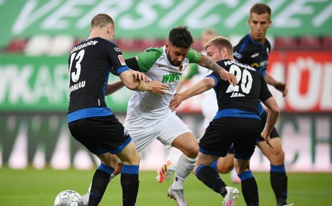 Paderborn'un umutları tükeniyor! Augsburg ile yenişemediler...