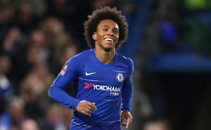 Willian: 'Chelsea ilk 4'ü hak ediyor'