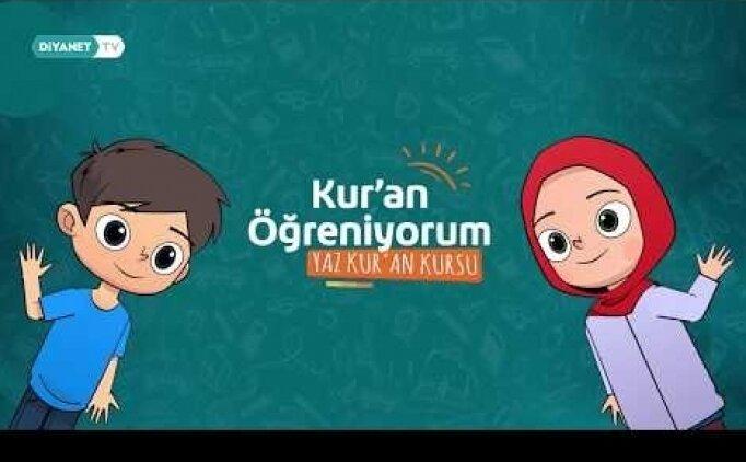 Diyanet TV Yaz Kuran kursu (Saatleri, haftalık ders programı, ne zaman başlıyor?)