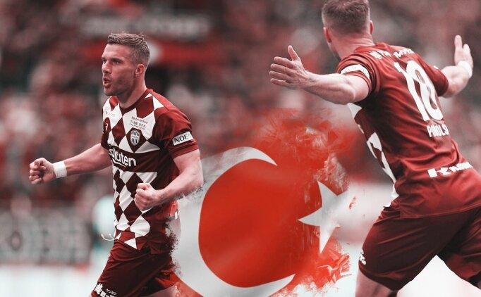Antalyaspor'dan Podolski için resmi açıklama