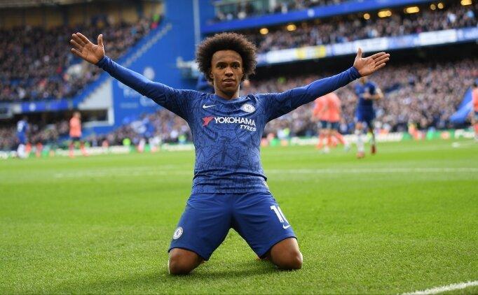 Willian, Chelsea'ye veda etti