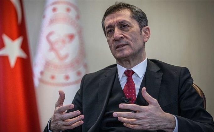 Milli Eğitim Bakanı açıkladı: 'Aralık sonuna kadar sınav yok'