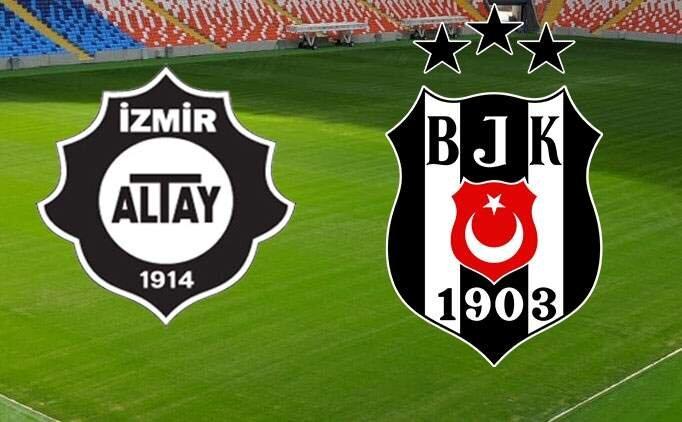 Altay BJK maçı canlı izle, Beşiktaş maçı canlı link