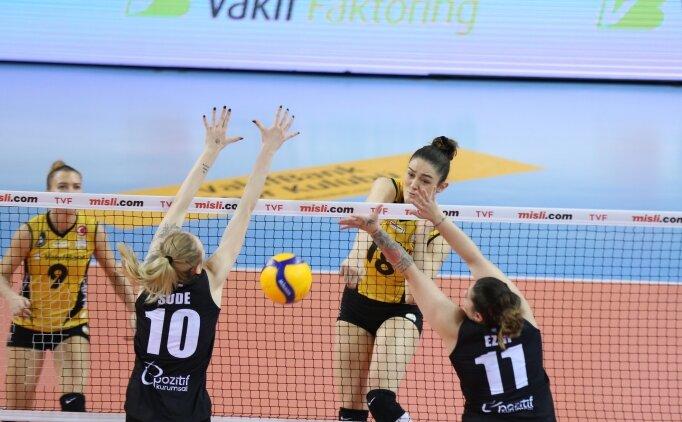Vakıfbank, ligde 24. galibiyetine ulaştı