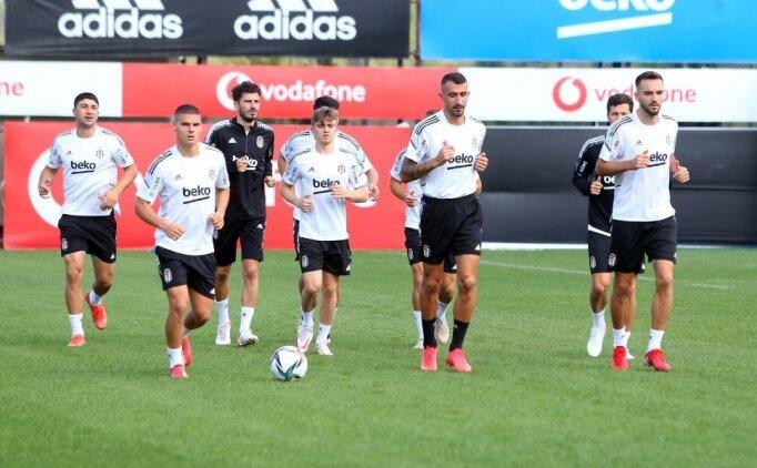 Beşiktaş'ın kamp kadrosunda 5 eksik