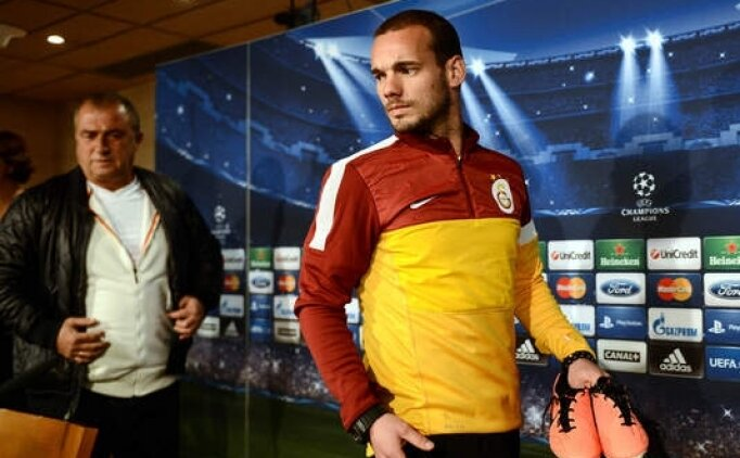 Wesley Sneijder teknik direktörlük yapmak istiyor