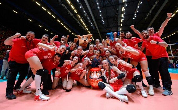 A Milli Kadın Voleybol Takımı'nın Milletler Ligi'ndeki maç programı belli oldu