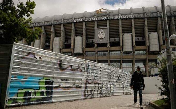 Real Madrid mabedi Santiago Bernabeu'ya geri dönüyor