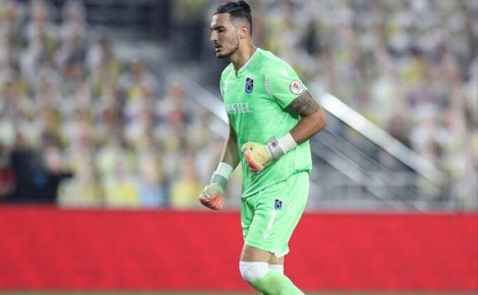 Uğurcan Çakır: 'Şimdi Beşiktaş maçını düşünme zamanı'