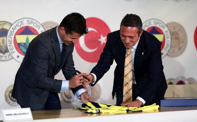 Fenerbahçe'de Emre Belözoğlu ile 2024'e kadar imza!