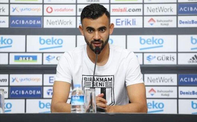 'Ghezzal Türkiye'de sadece Beşiktaş'ta oynarım dedi'