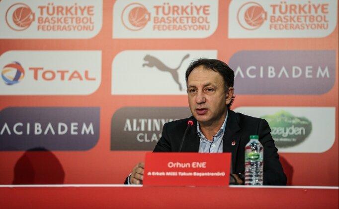Orhun Ene: 'Hedefimiz Olimpiyat Oyunları'