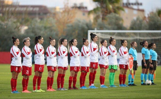 A Milli Kadın Futbol Takımı, Portekiz'i ağırlayacak
