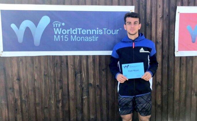 Milli tenisçi Ergi Kırkın İstanbul Indoor Challenger'da çeyrek finalde!