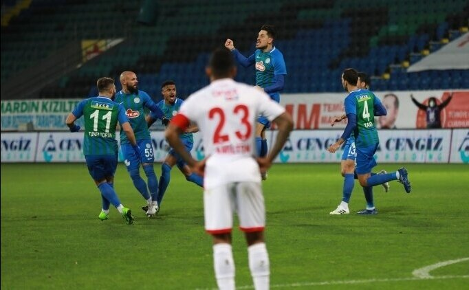 Antalyaspor ile Çaykur Rizespor 21. randevuda