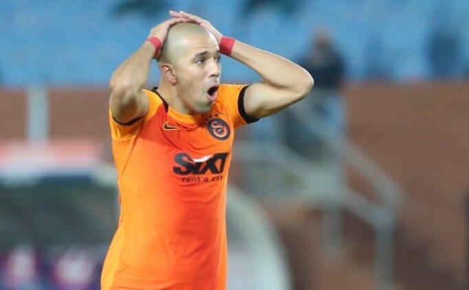 Galatasaray'da Sofiane Feghouli sakatlandı!