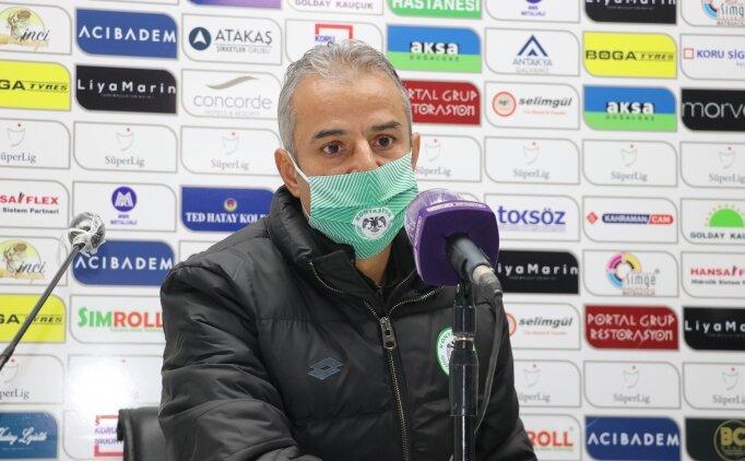 Konyaspor'da İsmail Kartal PFDK'ye sevk edildi