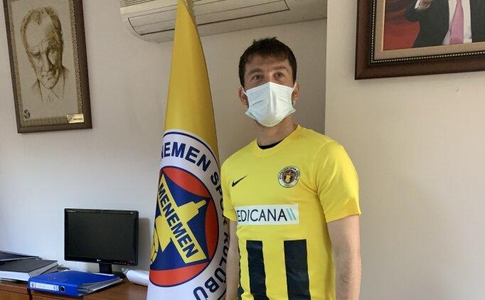 Menemenspor, Berkay Samancı'yı renklerine bağladı