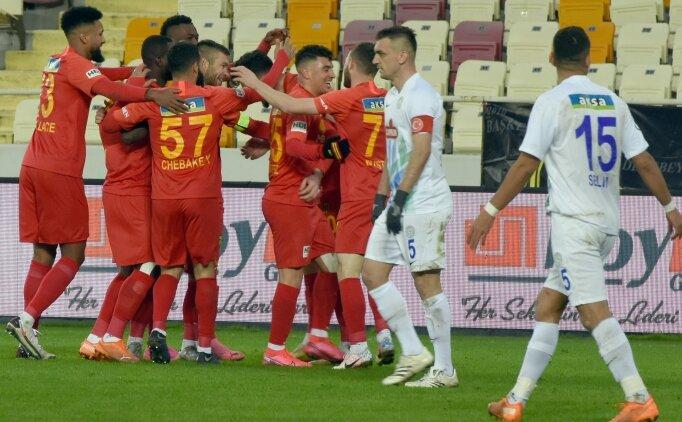 Malatyaspor, Rizespor'u 4 golle uğurladı