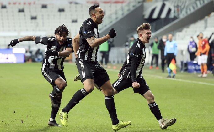 Beşiktaş, ligde 7 maçtır yenilgi yüzü görmüyor