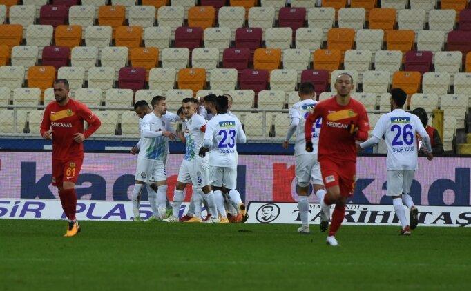 Çaykur Rizespor'un konuğu Yeni Malatyaspor