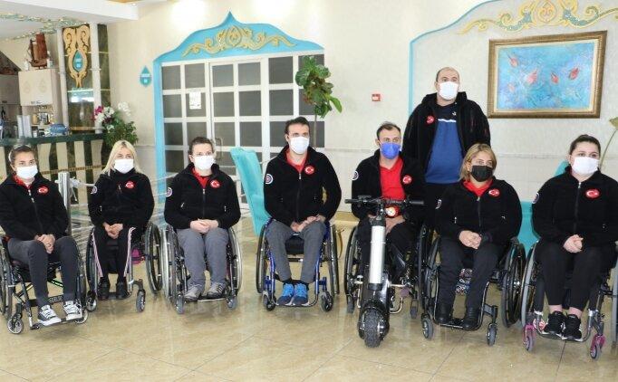 2020 Tokyo Paralimpik Oyunları hazırlıkları için milli okçular Antalya'da kampa girdi