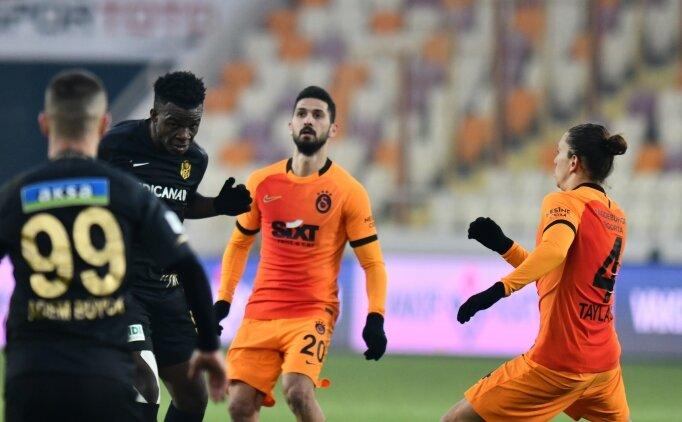 Galatasaray ile Yeni Malatyaspor 8. randevuda