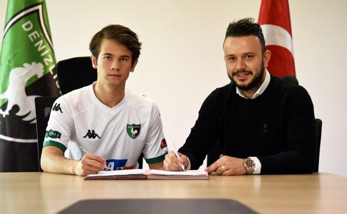 Denizlispor'dan 3 oyuncuya profesyonel sözleşme