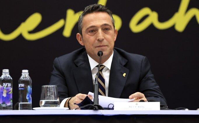 Fenerbahçe'de Ali Koç konuşacak