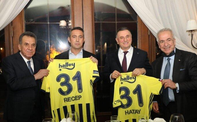 Hatayspor Yönetimi'nden Fenerbahçe'ye ziyaret