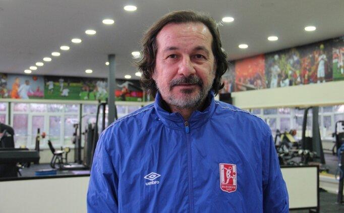 Ligde kalmayı garantileyen Balıkesirspor genç futbolculara şans verecek