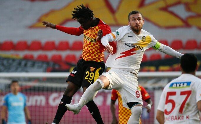Göztepe ve Yeni Malatyaspor puanları paylaştı