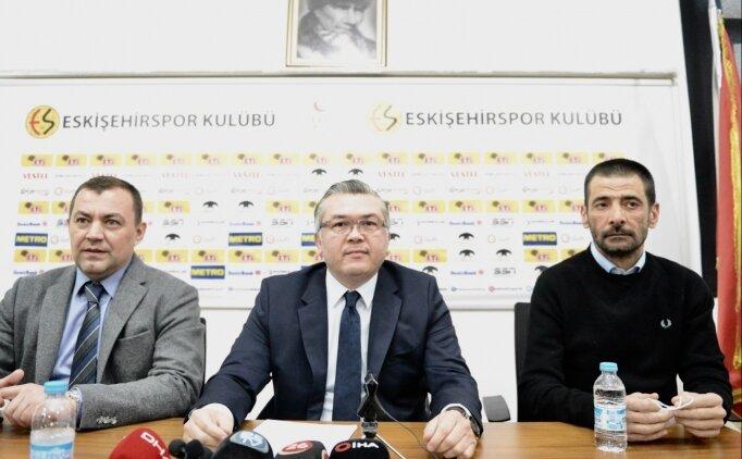 Eskişehirspor Başkanı Akgören ile Başkan Vekili Sezer'in Kovid-19 testi pozitif