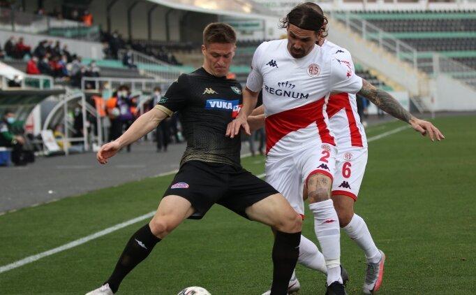 Antalyaspor'un Denizlispor serisi devam etti!