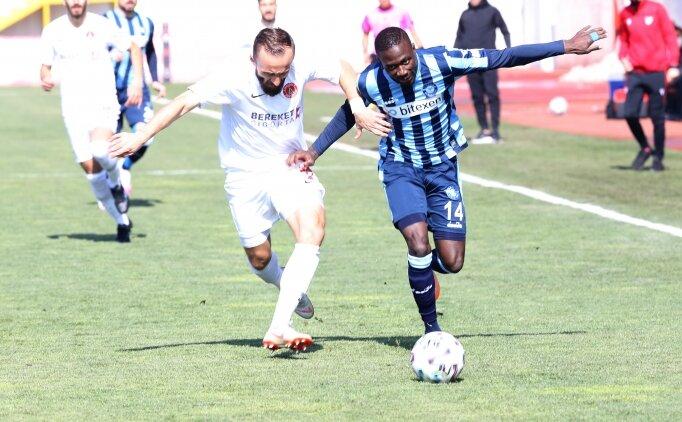 Ümraniyespor ile Adana Demirspor yenişemedi