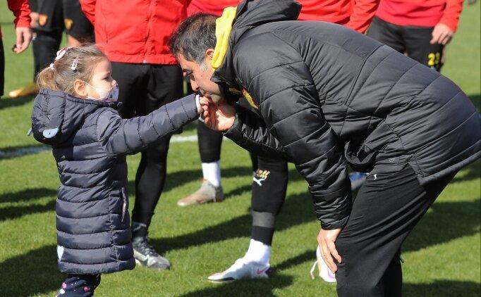 Ayda bebekten Göztepe'ye ziyaret