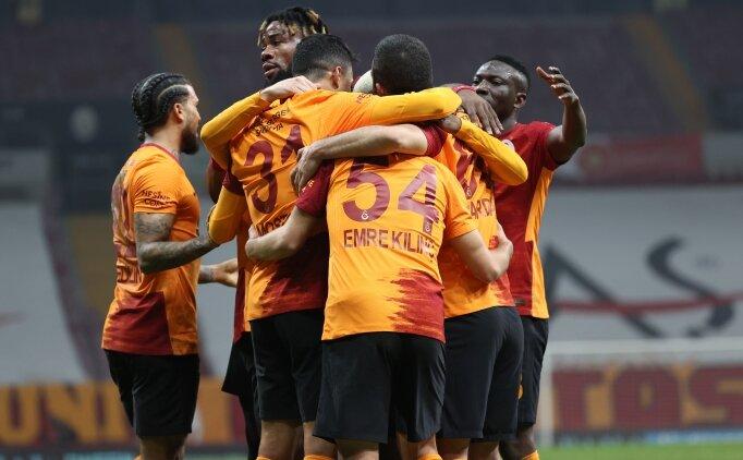 Galatasaray'da parola: 7 maç 21 puan
