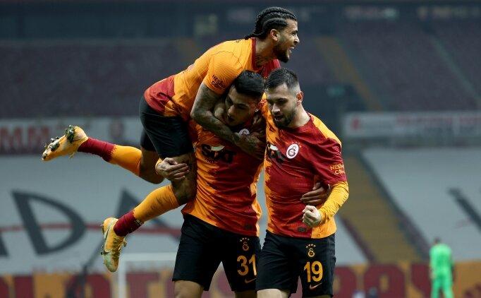Galatasaray vitesi 8'e taktı!