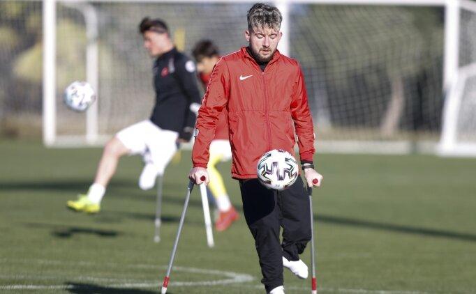 Ampute Milli Futbol Takımı'nın forveti Ömer Güleryüz'ün iddialı sözleri