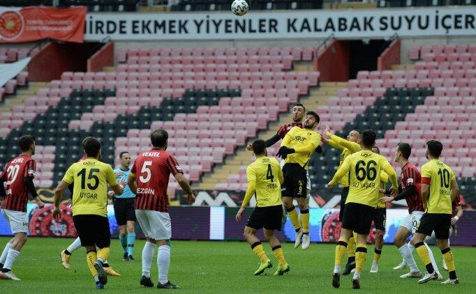 İstanbulspor, zirve umutlarını Eskişehir'de yeşertti