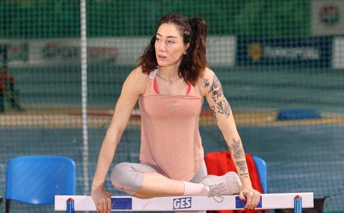 Tuğba Danışmaz'ın hedefi 14 metre atlayan ilk Türk kadın sporcu olmak