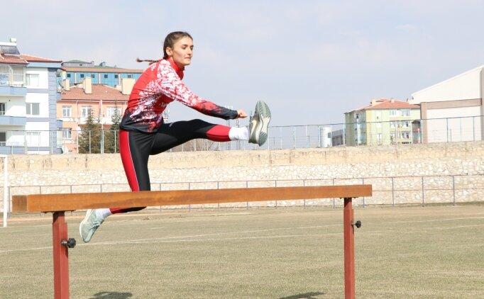 Milli atlet Şevval Özdoğan'ın hedefi dünya şampiyonluğu