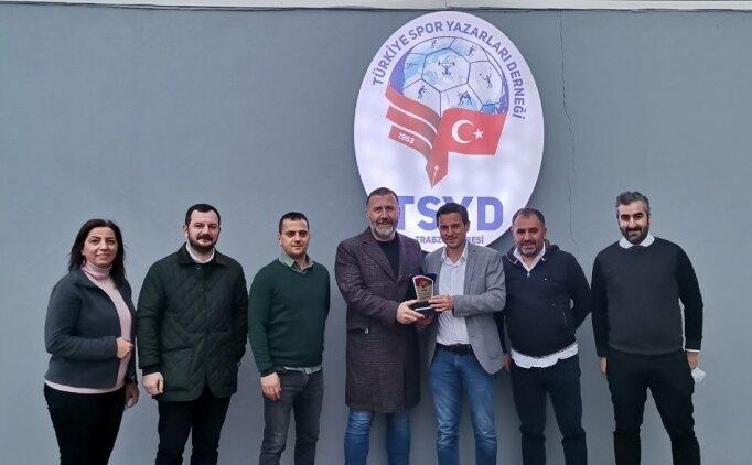 Mehmet Yiğit Alp'ten TSYD Trabzon Şubesi'ne ziyaret