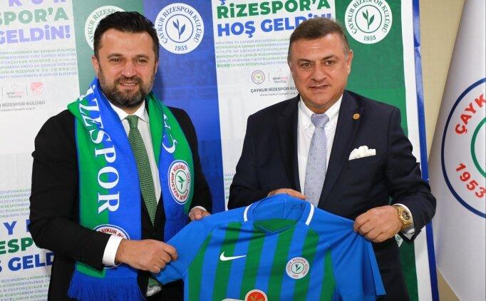 Bülent Uygun, Çaykur Rizespor'a resmi imzayı attı