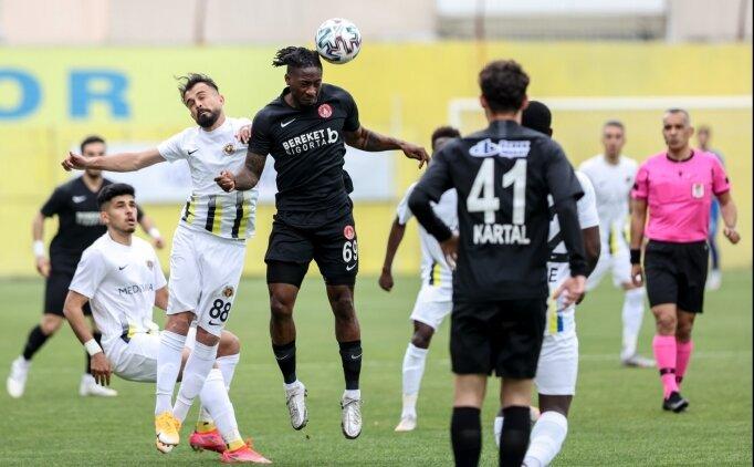Menemenspor ile Ümreniyespor puanları paylaştı